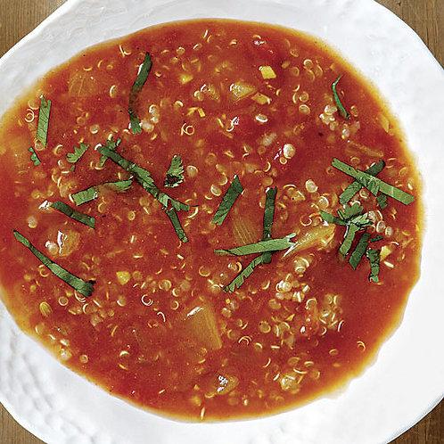 Tomato, Fennel & Quinoa Soup