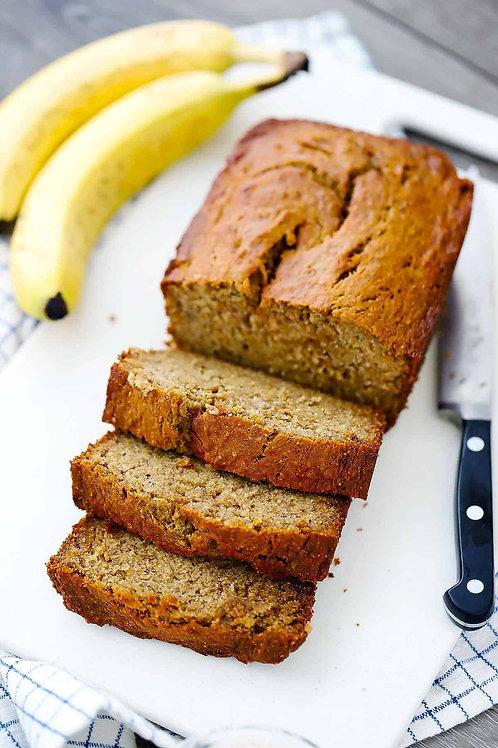 Homemade Banana Cake Loaf