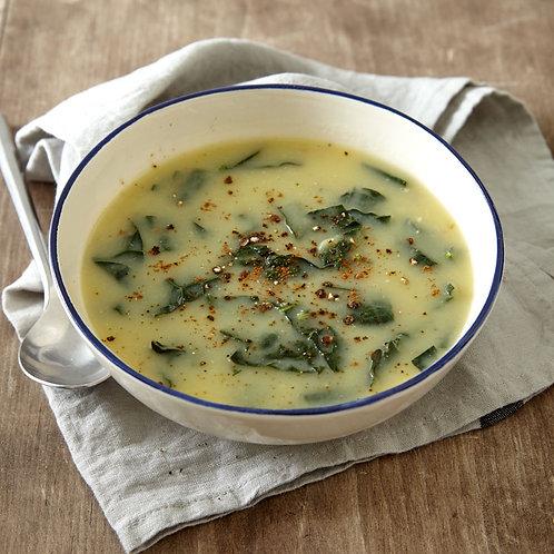 Potato, Kale & Cabbage Soup