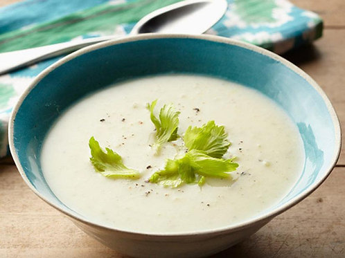 Leek, Potato & Rutabaga Soup