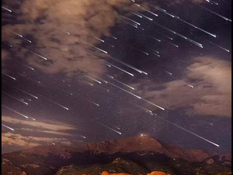 Sky Watchers Tonight Is A Celestial Fireworks