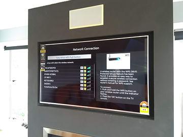 tv wall swivel mount installation