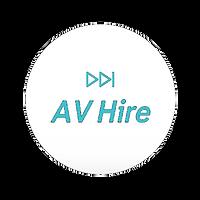 AV hire logo
