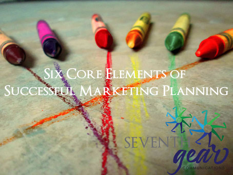 Six Core Elements of Successful Marketing Planning