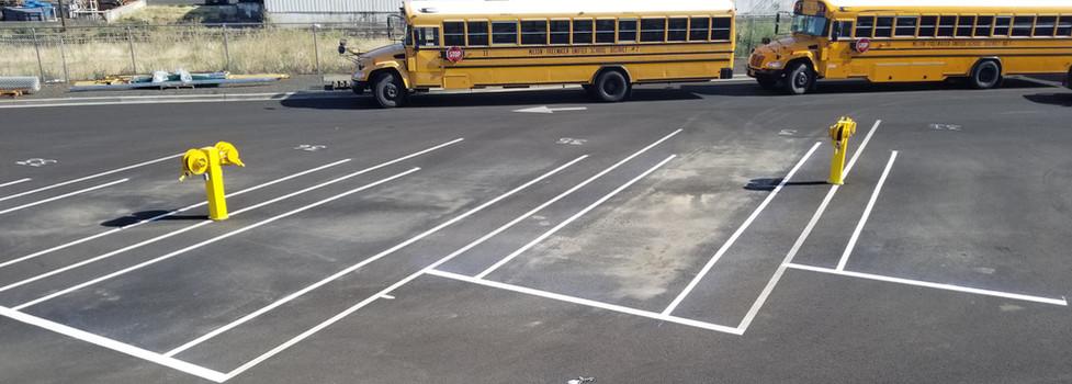MF School District Bus Station