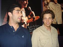 GK and Adam Ray
