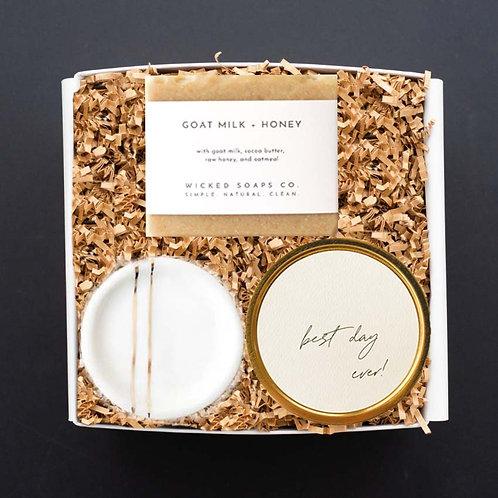Morgan Tidey Client Gift