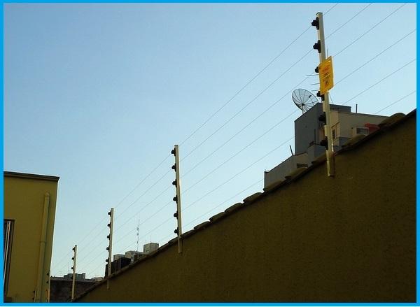 cercas elétricas resistentes