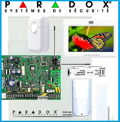 alarmes Paradox sp