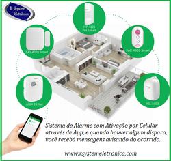 Alarme controlado por Celular
