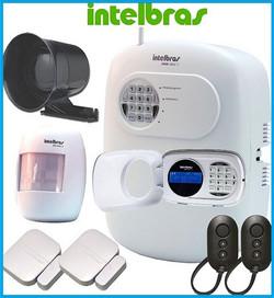 cameras de segurança, alarmes, cerca