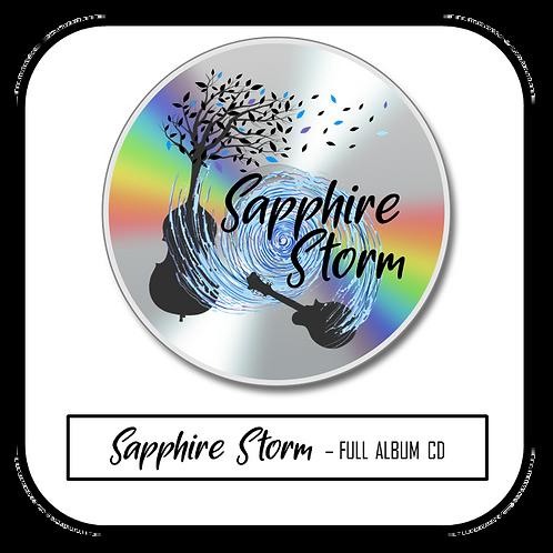 PRE-ORDER Sapphire Storm CD (Full Album)
