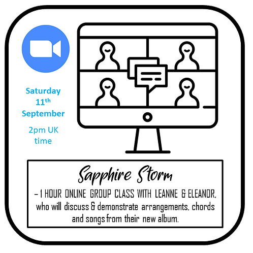 ONLINE GROUP CLASS/WORKSHOP