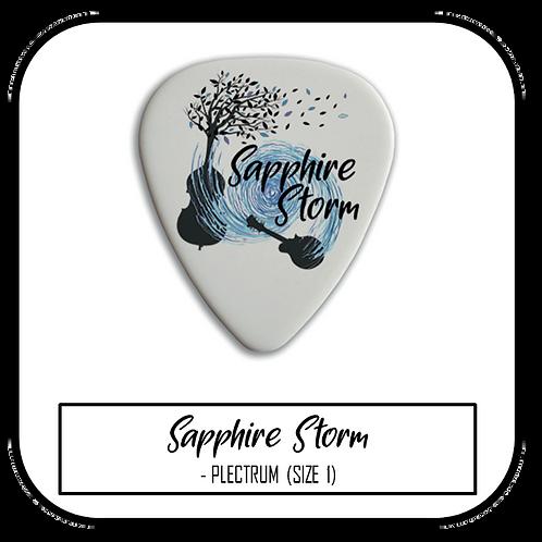 Sapphire Storm Plectrum