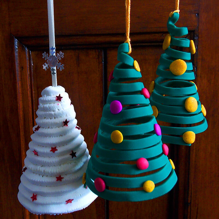 """""""Class Full"""" 3D Holiday Clay Ornament workshop"""