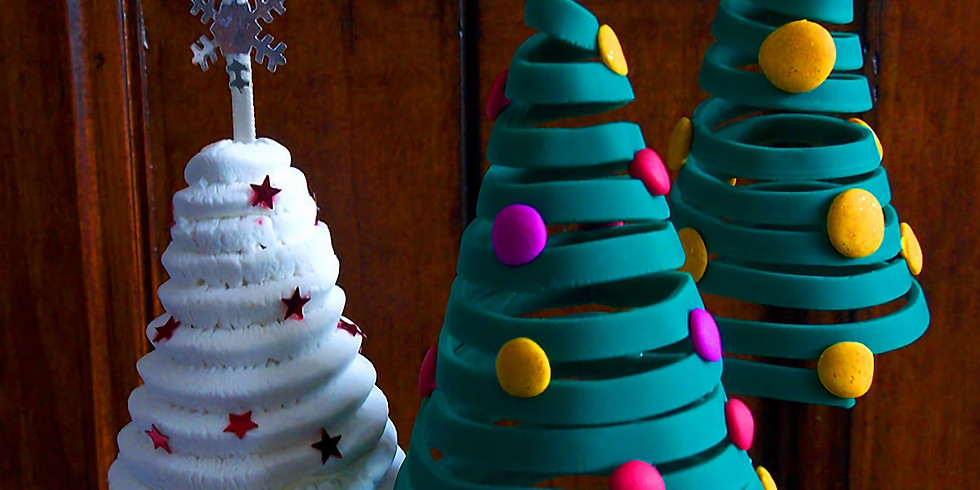 3D Holiday Clay Ornament workshop with Patti McNeice