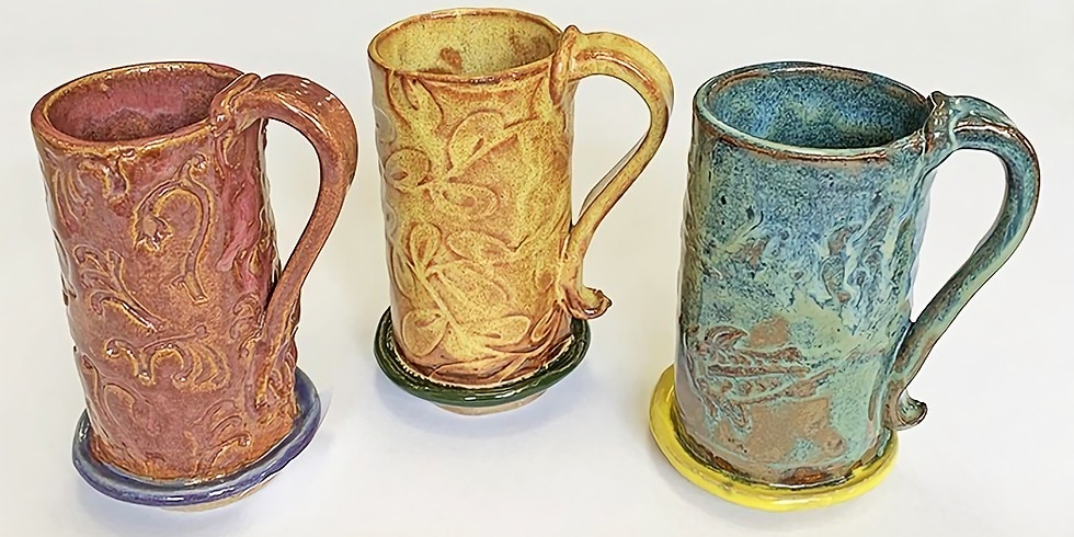 """Full Class- Saturday Night """"Mugs in Evolution"""" June 5th and 19th, 2021"""