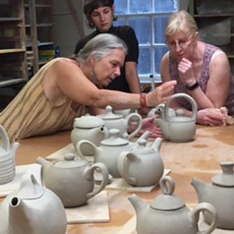 Wee Tea Pot Workshop by Cathi Jefferson,