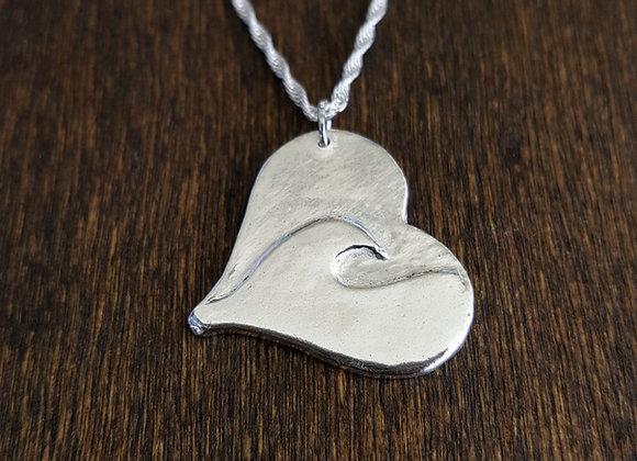 Ocean Heart pendant