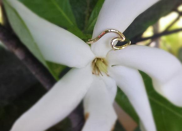 14 Karat Gold-Filled Wave Ring