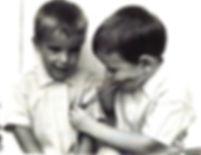 Heller boys - Art & David playing doctor