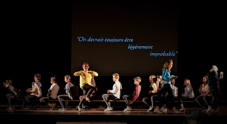Ateliers théâtre enfants à Poitiers