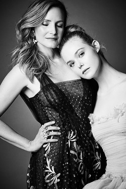Elle Fanning + Samantha McMillen