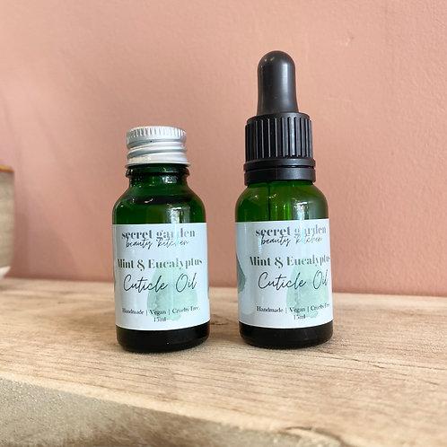 Mint & Eucalyptus Cuticle Oil