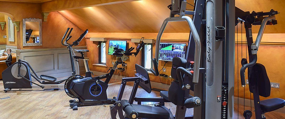 On-site shared Gym | Red House Farm Cott