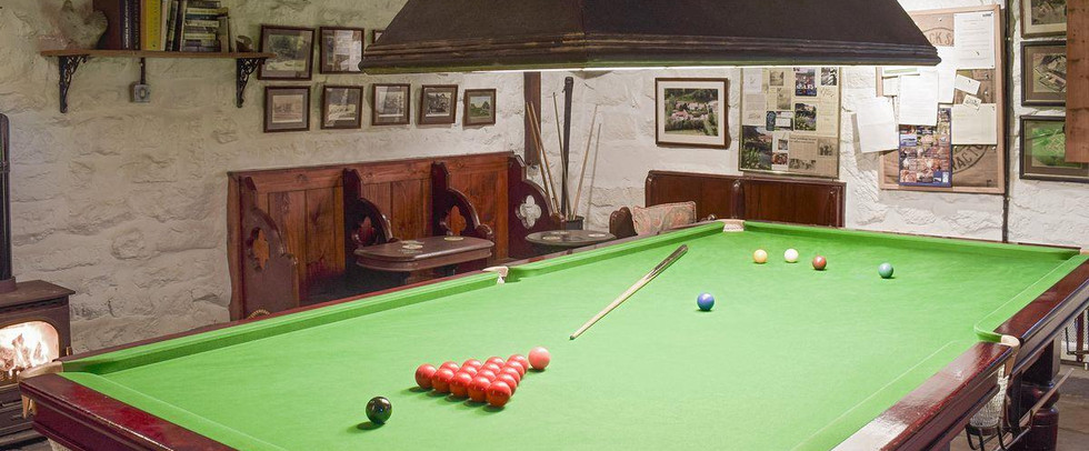 Adult Games Room | Red House Farm