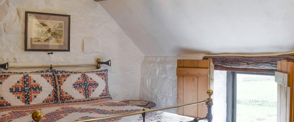 Bedroom. The Threshing Barn Holiday Cottage Red House Farm Glaisdale