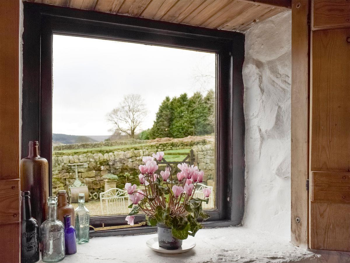 Lovely Views Bedroom Old Sheaf Store | Red House Farm Glaisdale