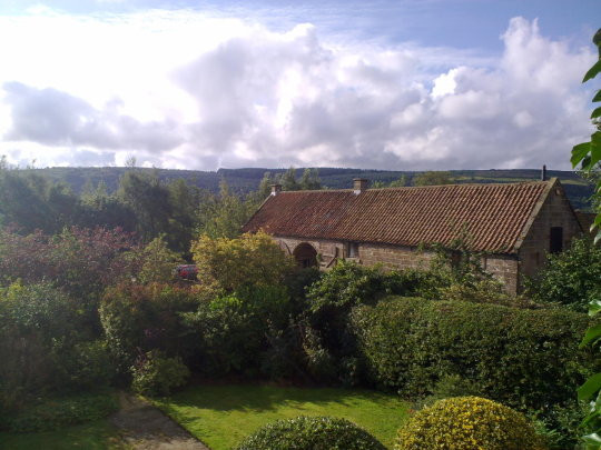 The Holiday Cottages seen from Red House Farm B&B
