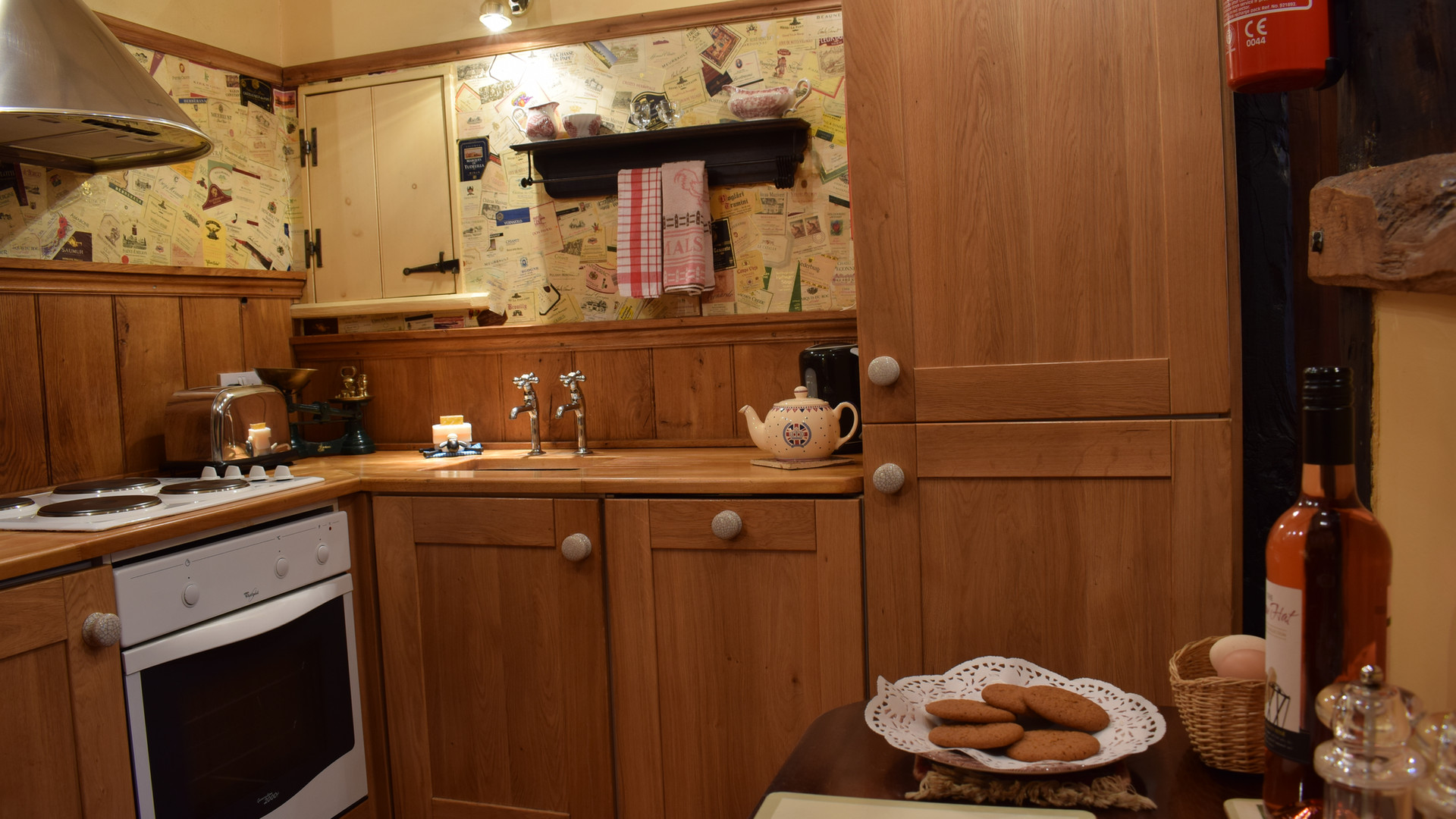 Kitchen of The Hayloft Holiday Cottage Red House Farm Glaisdale
