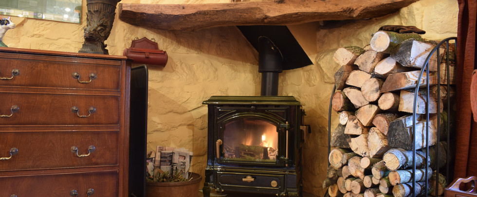 Wood Stove of The Hayloft Red House Farm Glaisdale