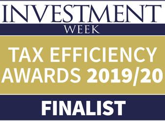 Symvan Capital: Finalist at Investment Week Tax Efficiency Awards 2019/20