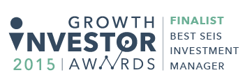 Symvan Capital Finalist Best SEIS Investment Manager 2015 Growth Investor Awards
