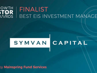 Symvan Capital nominated for two awards at Growth Investor Awards 2018