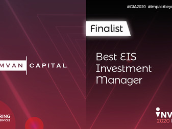 Symvan Capital named as a finalist in three categories in the 2020 Growth Investor Awards