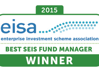 Symvan Capital named Best SEIS Fund Manager/Sponsor at EISA Annual Awards 2015