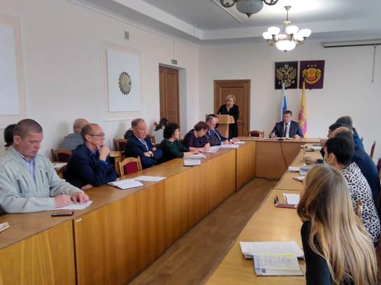 Выездное мероприятие в Администрации Урмарского района