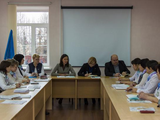 Рабочее совещание в с. Батырево с участием районных отделений