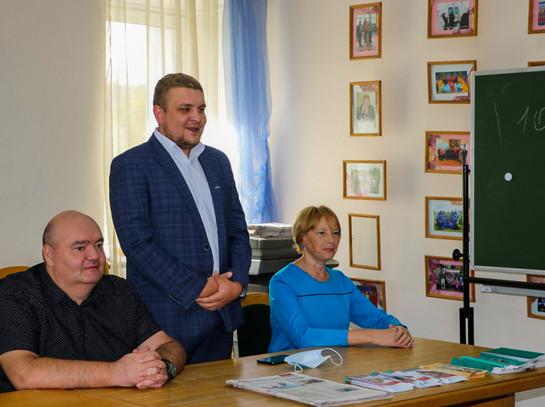 Встреча с Союзом пенсионеров и Союзом женщин Чувашии г. Канаш.