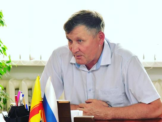 Рабочая встреча с администрацией Ибресинского района