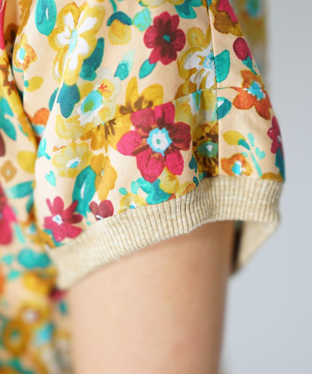 Dusk flower pullover