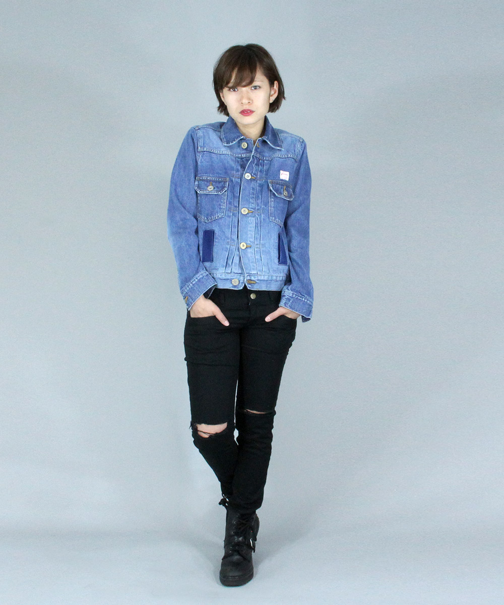 Used manufacture jean jacket