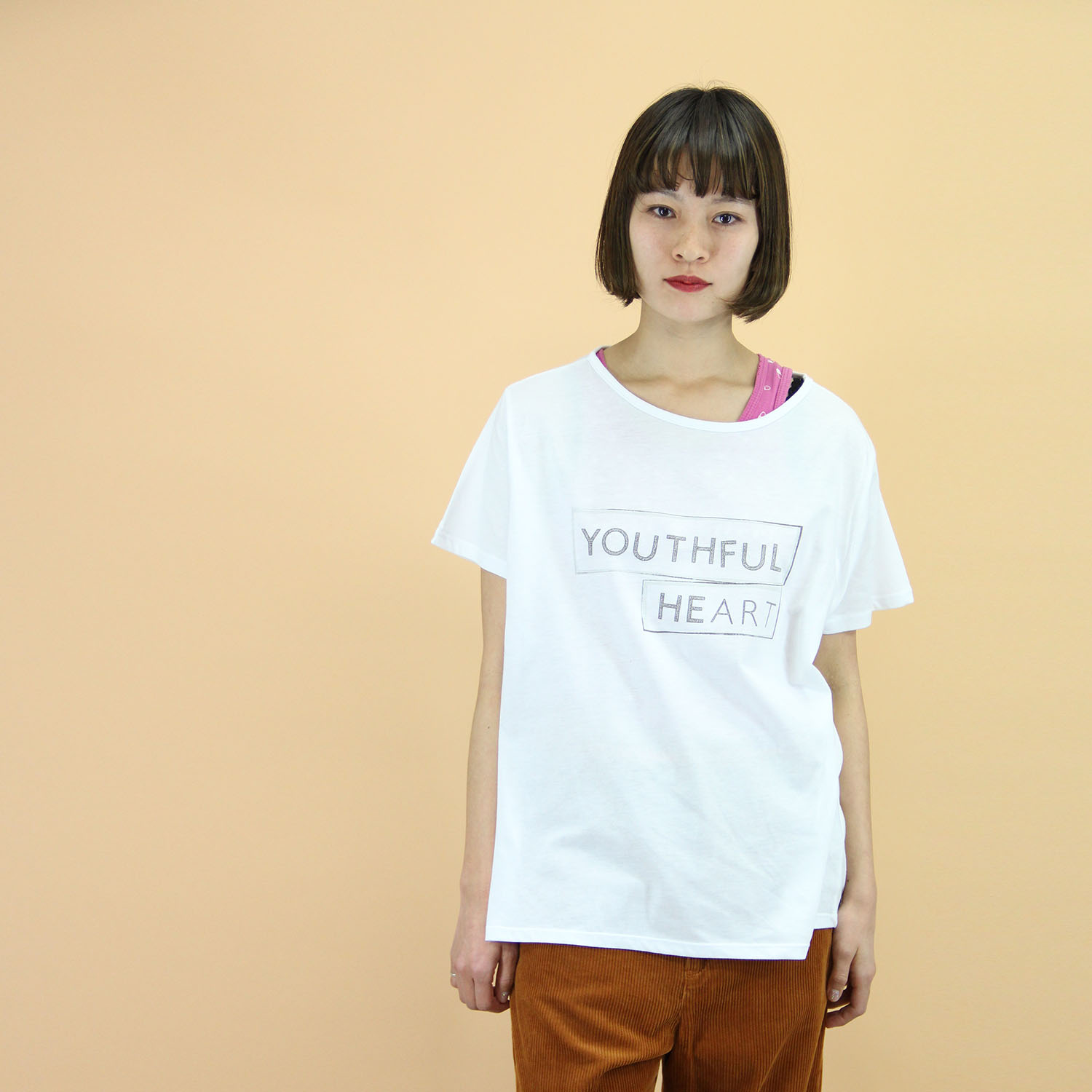 VAIOUS_YOUTHFUL HEART_Tシャツ