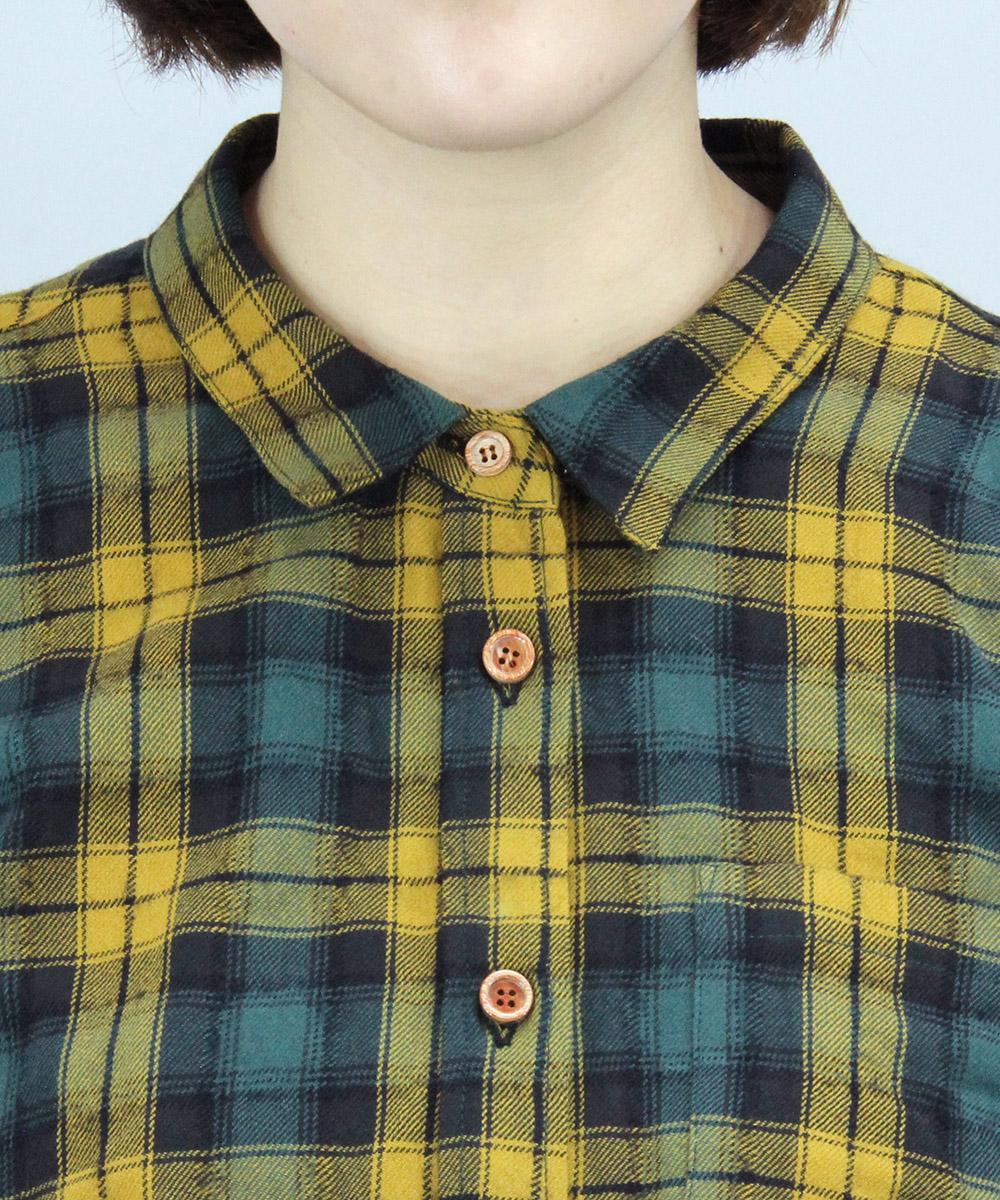 Tartan check design work shirt
