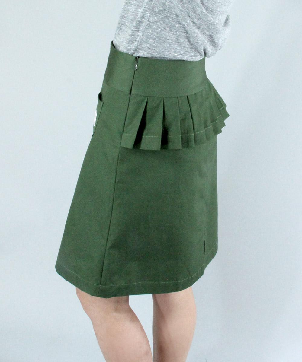2WAY tuck design weather skirt