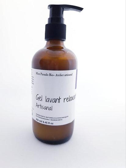 Gel lavant relaxant